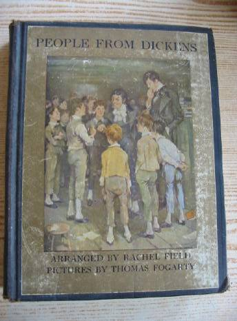 Photo of PEOPLE FROM DICKENS written by Dickens, Charles<br />Field, Rachel illustrated by Fogarty, Thomas published by Charles Scribner's Sons (STOCK CODE: 403284)  for sale by Stella & Rose's Books