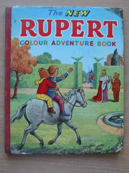 Photo of THE NEW RUPERT COLOUR ADVENTURE BOOK written by Tourtel, Mary published by L.T.A. Robinson Ltd. (STOCK CODE: 431244)  for sale by Stella & Rose's Books