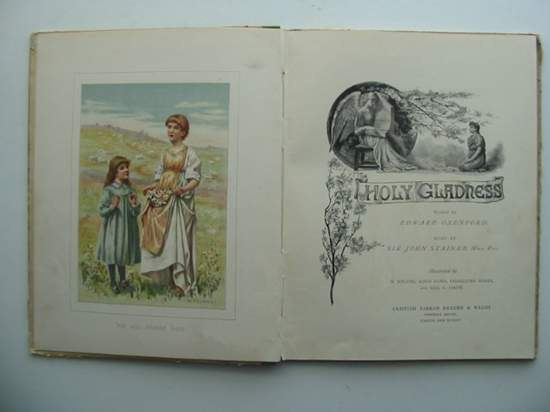 Photo of HOLY GLADNESS written by Oxenford, Edward illustrated by Ryland, Henry<br />et al.,  published by Griffith Farran Okeden & Welsh (STOCK CODE: 433935)  for sale by Stella & Rose's Books