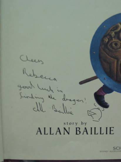 Photo of DRAGON QUEST written by Baillie, Allan illustrated by Harris, Wayne published by Scholastic (STOCK CODE: 438229)  for sale by Stella & Rose's Books