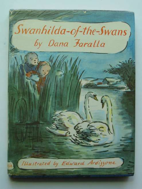 Photo of SWANHILDA-OF-THE-SWANS written by Faralla, Dana illustrated by Ardizzone, Edward published by Blackie (STOCK CODE: 440747)  for sale by Stella & Rose's Books