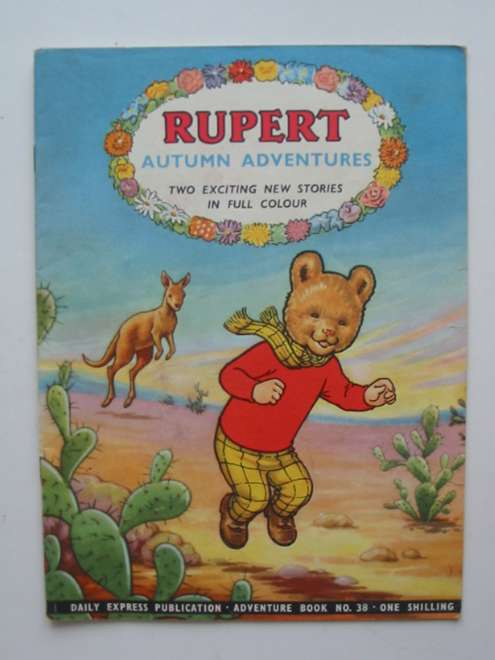 Photo of RUPERT ADVENTURE BOOK No. 38 - AUTUMN ADVENTURES written by Bestall, Alfred published by Daily Express (STOCK CODE: 444565)  for sale by Stella & Rose's Books