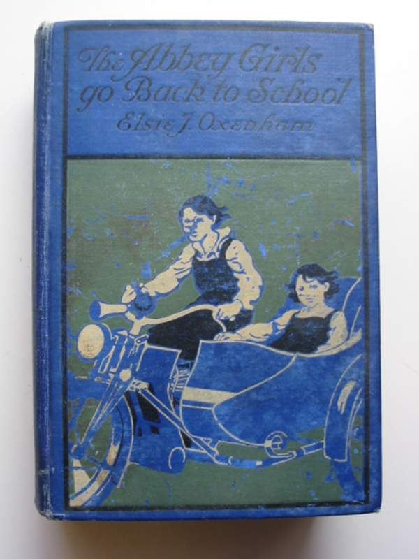 Photo of THE ABBEY GIRLS GO BACK TO SCHOOL written by Oxenham, Elsie J. illustrated by Wood, Elsie Anna published by Collins Clear-Type Press (STOCK CODE: 446204)  for sale by Stella & Rose's Books