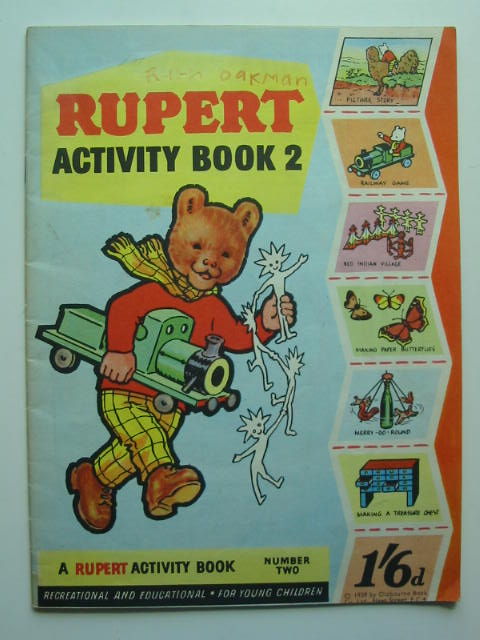 Photo of RUPERT ACTIVITY BOOK 2 published by Oldbourne Book Co. Ltd. (STOCK CODE: 446307)  for sale by Stella & Rose's Books