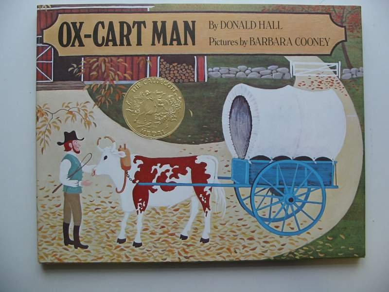 Photo of OX-CART MAN written by Hall, Donald illustrated by Cooney, Barbara published by Julia MacRae Books (STOCK CODE: 446704)  for sale by Stella & Rose's Books