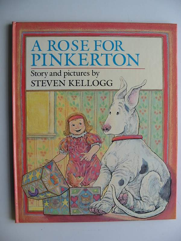 Photo of A ROSE FOR PINKERTON written by Kellogg, Steven illustrated by Kellogg, Steven published by Frederick Warne (STOCK CODE: 446859)  for sale by Stella & Rose's Books