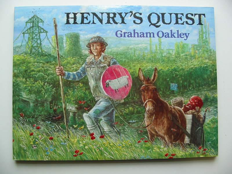Photo of HENRY'S QUEST written by Oakley, Graham illustrated by Oakley, Graham published by Macmillan Children's Books (STOCK CODE: 446959)  for sale by Stella & Rose's Books