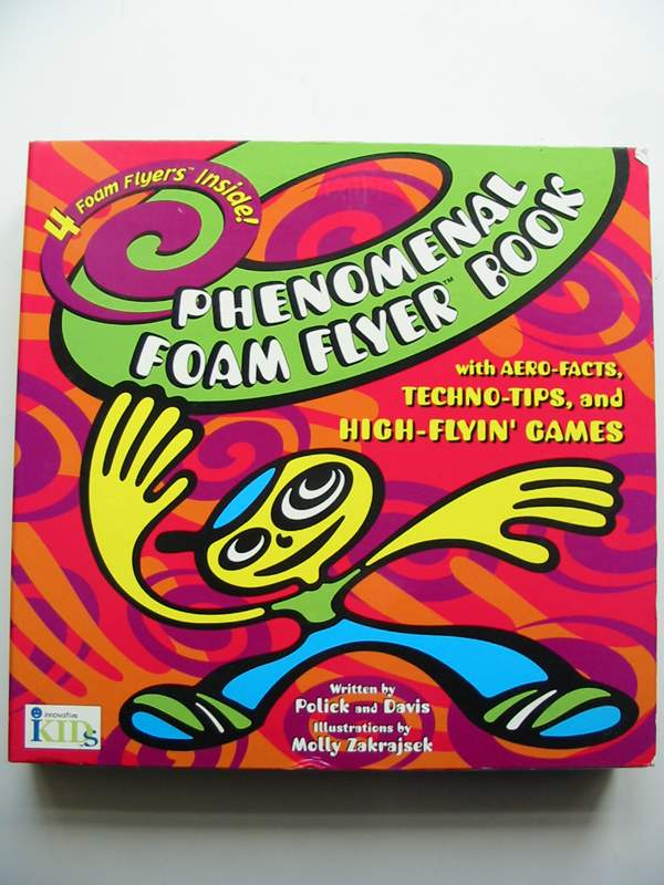 Photo of PHENOMENAL FOAM FLYER BOOK written by Polick,  illustrated by Zakrajsek, Molly published by Innovative Kids, Tango Books (STOCK CODE: 447888)  for sale by Stella & Rose's Books