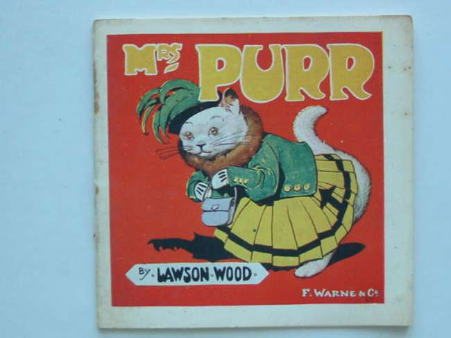Photo of MRS PURR HOW SHE GIVES A PARTY written by Wood, Lawson illustrated by Wood, Lawson published by Frederick Warne & Co Ltd. (STOCK CODE: 448293)  for sale by Stella & Rose's Books