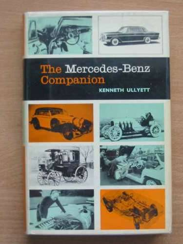 Photo of THE MERCEDES-BENZ COMPANION written by Ullyett, Kenneth published by Stanley Paul (STOCK CODE: 485202)  for sale by Stella & Rose's Books