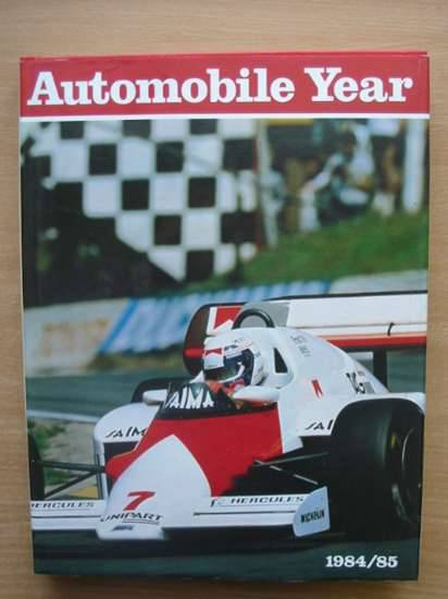 Photo of AUTOMOBILE YEAR No. 32 1984-85 published by Editions 24 Heures (STOCK CODE: 486090)  for sale by Stella & Rose's Books