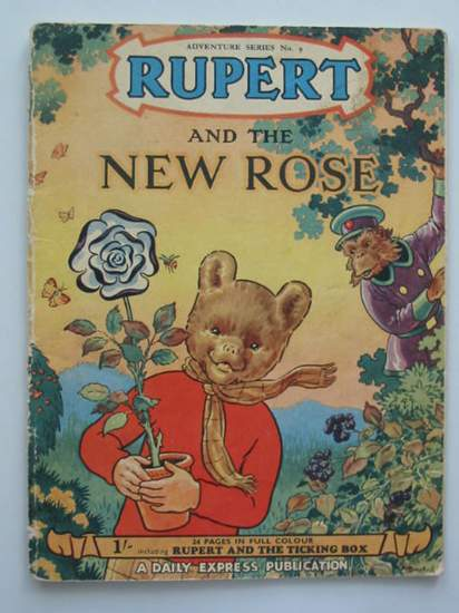 Photo of RUPERT ADVENTURE SERIES No. 9 - RUPERT AND THE NEW ROSE written by Bestall, Alfred illustrated by Bestall, Alfred published by Daily Express (STOCK CODE: 487330)  for sale by Stella & Rose's Books