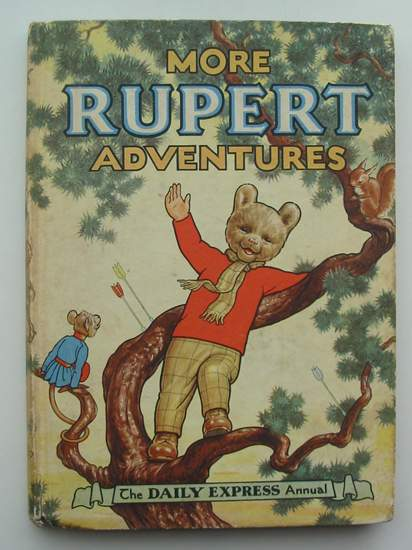 Photo of RUPERT ANNUAL 1952 - MORE RUPERT ADVENTURES written by Bestall, Alfred illustrated by Bestall, Alfred published by Daily Express (STOCK CODE: 487412)  for sale by Stella & Rose's Books