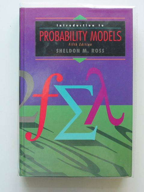 Photo of INTRODUCTION TO PROBABILITY MODELS written by Ross, Sheldon M. published by Academic Press (STOCK CODE: 555390)  for sale by Stella & Rose's Books