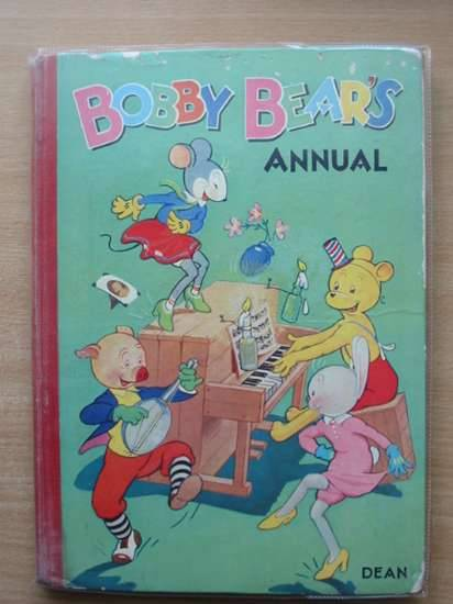 Photo of BOBBY BEAR'S ANNUAL 1960 written by Groom, Arthur<br />Collier, Madeleine published by Dean & Son Ltd. (STOCK CODE: 555405)  for sale by Stella & Rose's Books