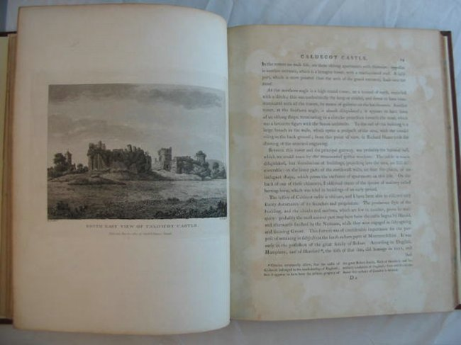 Photo of AN HISTORICAL TOUR IN MONMOUTHSHIRE written by Coxe, William illustrated by Hoare, R.C. published by T. Cadell (STOCK CODE: 556822)  for sale by Stella & Rose's Books