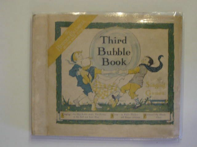 Photo of THIRD BUBBLE BOOK written by Mayhew, Ralph<br />Johnson, Burges illustrated by Chase, Rhoda C. published by Hodder & Stoughton (STOCK CODE: 557366)  for sale by Stella & Rose's Books
