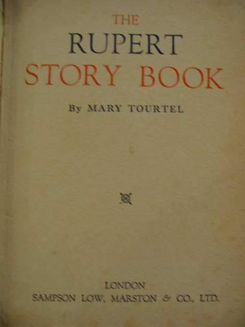 Photo of THE RUPERT STORY BOOK written by Tourtel, Mary published by Sampson Low, Marston & Co. Ltd. (STOCK CODE: 562071)  for sale by Stella & Rose's Books
