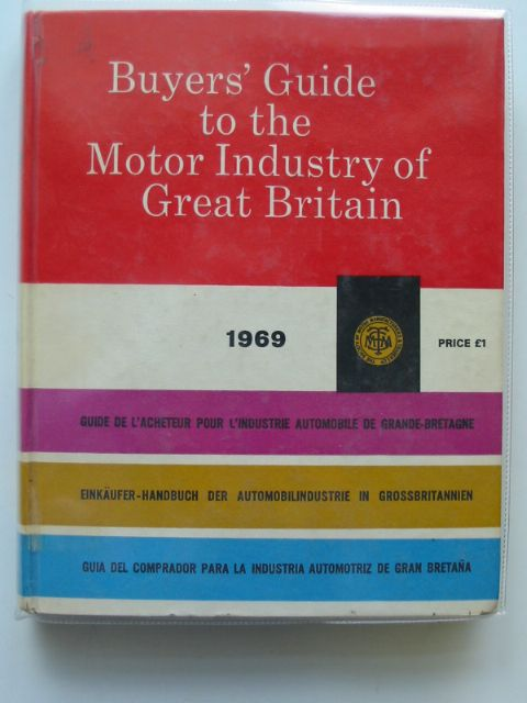 Photo of BUYERS' GUIDE TO THE MOTOR INDUSTRY OF GREAT BRITAIN published by Society Of Motor Manufacturers & Traders Ltd. (STOCK CODE: 563848)  for sale by Stella & Rose's Books