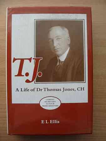 Photo of T.J. A LIFE OF DR THOMAS JONES written by Ellis, E.L. published by University of Wales (STOCK CODE: 564137)  for sale by Stella & Rose's Books