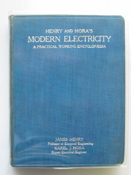 Photo of MODERN ELECTRICITY written by Henry, James<br />Hora, Karel J. published by Hodder & Stoughton (STOCK CODE: 567219)  for sale by Stella & Rose's Books