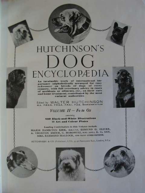 Hutchinson S Dog Encyclopedia