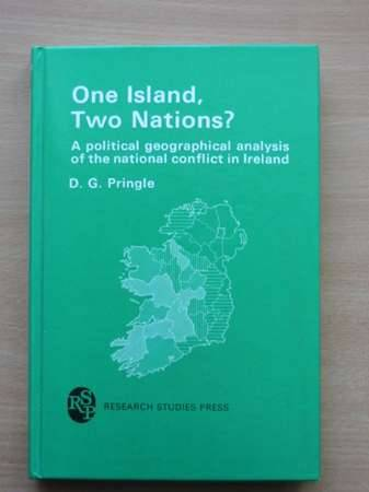 Photo of ONE ISLAND, TWO NATIONS? written by Pringle, D.G. published by Research Studies Press (STOCK CODE: 568355)  for sale by Stella & Rose's Books