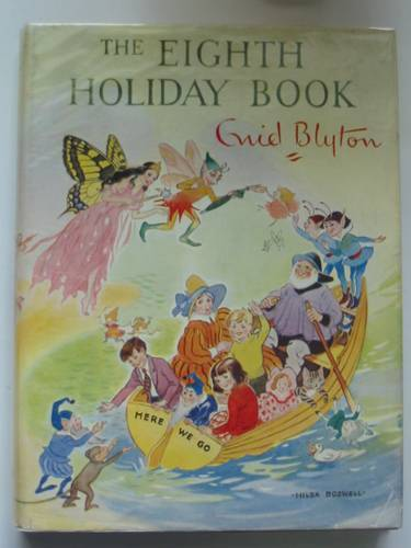 Photo of THE EIGHTH HOLIDAY BOOK written by Blyton, Enid illustrated by Dawson, E.M.<br />Lodge, Grace<br />et al.,  published by Sampson Low, Marston & Co. Ltd. (STOCK CODE: 570624)  for sale by Stella & Rose's Books