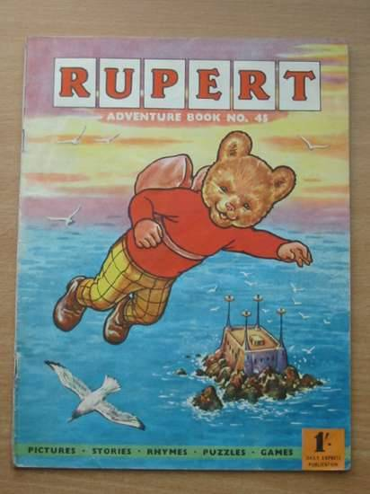 Photo of RUPERT ADVENTURE BOOK No. 45 written by Bestall, Alfred published by Daily Express (STOCK CODE: 573706)  for sale by Stella & Rose's Books