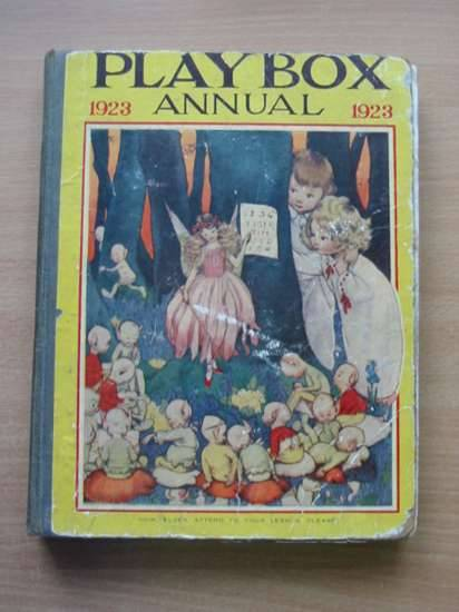 Photo of PLAYBOX ANNUAL 1923 illustrated by Lambert, H.G.C. Marsh<br />Church, L.<br />Cash, S.J.<br />et al.,  published by The Amalgamated Press (STOCK CODE: 575226)  for sale by Stella & Rose's Books