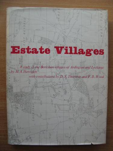 Photo of ESTATE VILLAGES written by Havinden, M.A. published by Lund Humphries (STOCK CODE: 578157)  for sale by Stella & Rose's Books