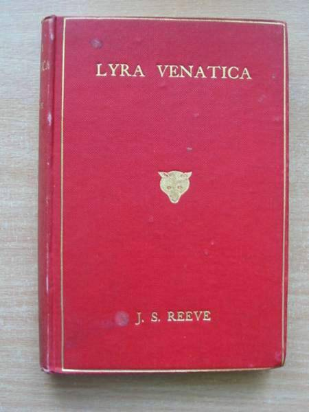 Photo of LYRA VENATICA written by Reeve, John Sherard published by Arthur L. Humphreys (STOCK CODE: 578274)  for sale by Stella & Rose's Books