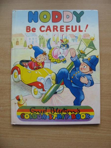 Photo of NODDY BE CAREFUL! written by Blyton, Enid illustrated by Beek,  published by Sampson Low, Marston & Co. Ltd., Dennis Dobson (STOCK CODE: 579000)  for sale by Stella & Rose's Books