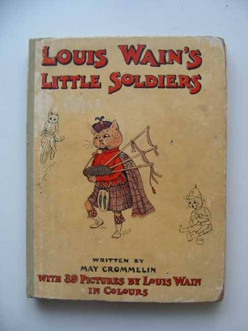 Photo of LITTLE SOLDIERS written by Crommelin, May illustrated by Wain, Louis published by Hutchinson & Co. (STOCK CODE: 581721)  for sale by Stella & Rose's Books