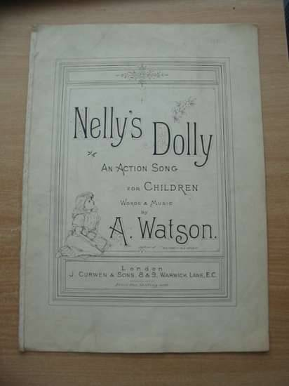 Photo of NELLY'S DOLLY written by Watson, A. published by J. Curwen & Sons Ltd. (STOCK CODE: 583430)  for sale by Stella & Rose's Books