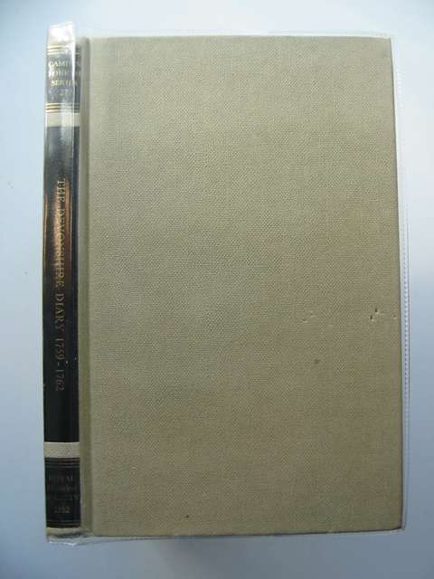 Photo of THE DEVONSHIRE DIARY 1759-1762 written by Brown, Peter D.<br />Schweizer, Karl W.<br />Cavendish, William published by The Royal Historical Society (STOCK CODE: 583577)  for sale by Stella & Rose's Books