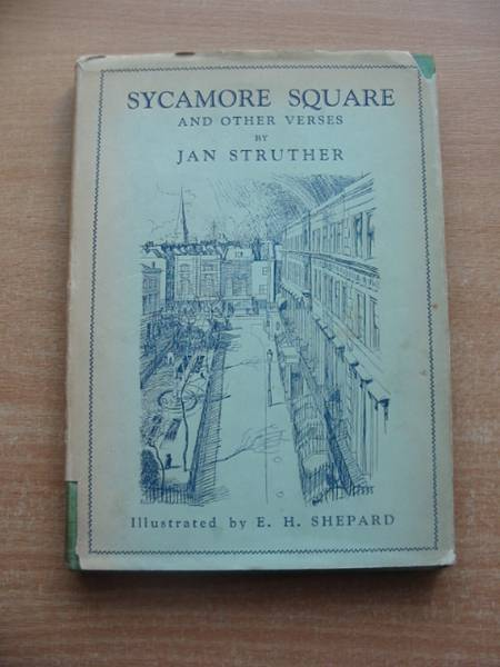 Photo of SYCAMORE SQUARE AND OTHER VERSES written by Struther, Jan illustrated by Shepard, E.H. published by Methuen & Co. Ltd. (STOCK CODE: 584504)  for sale by Stella & Rose's Books