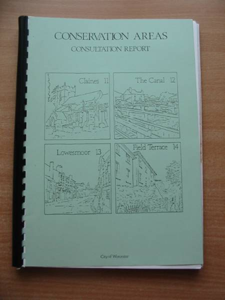 Photo of CONSERVATION AREAS CONSULTATION REPORT published by City Of Worcester (STOCK CODE: 585143)  for sale by Stella & Rose's Books