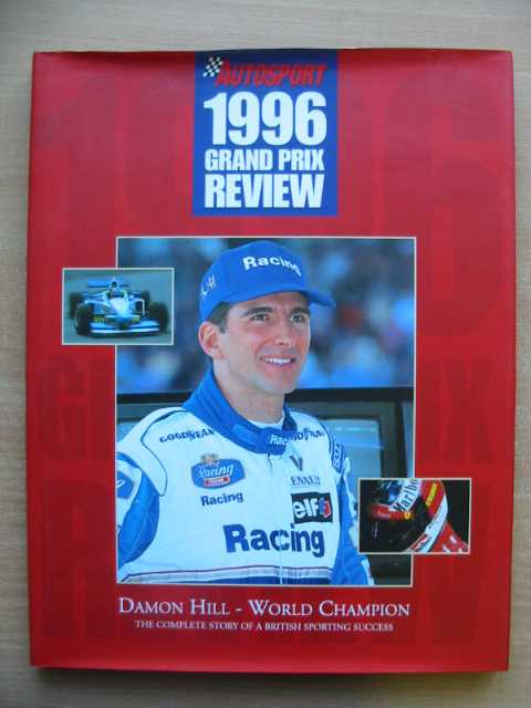 Photo of AUTOSPORT 1996 GRAND PRIX REVIEW published by Haymarket Motoring Publications (STOCK CODE: 586448)  for sale by Stella & Rose's Books