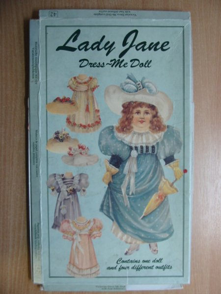 Photo of LADY JANE DRESS-ME DOLL published by Mamelok Press (STOCK CODE: 586806)  for sale by Stella & Rose's Books