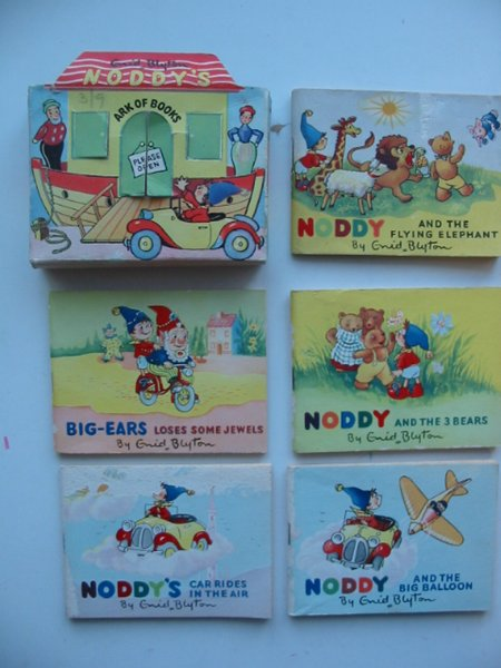 Photo of NODDY'S ARK OF BOOKS written by Blyton, Enid published by Sampson Low, Marston & Co. (STOCK CODE: 589049)  for sale by Stella & Rose's Books