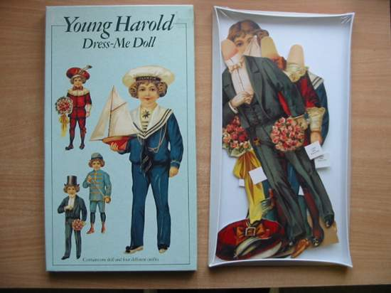 Photo of YOUNG HAROLD DRESS-ME DOLL published by Mamelok Press (STOCK CODE: 589171)  for sale by Stella & Rose's Books