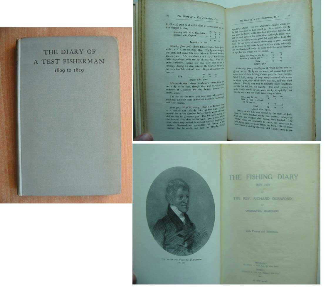 Photo of THE FISHING DIARY 1809-1819 written by Durnford, Richard published by Warren and Son Ltd., Simpkin & Co. Ltd. (STOCK CODE: 589357)  for sale by Stella & Rose's Books