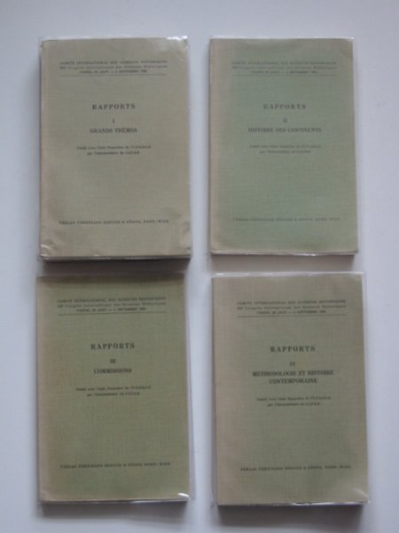 Photo of COMITE INTERNATIONAL DAY SCIENCES HISTORIQUES RAPPORTS published by Ferdinand Berger & Sohne (STOCK CODE: 589425)  for sale by Stella & Rose's Books