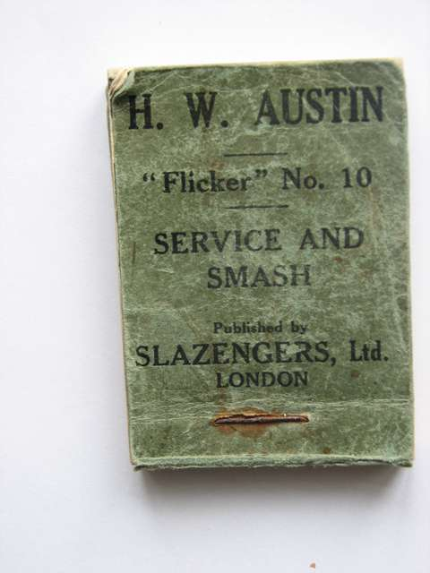 Photo of SERVICE AND SMASH written by Austin, H.W. published by Flicker Productions Ltd., Slazengers Ltd. (STOCK CODE: 591020)  for sale by Stella & Rose's Books