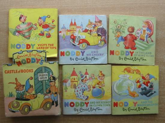 Photo of NODDY'S CASTLE OF BOOKS written by Blyton, Enid illustrated by Beek,  published by Sampson Low, Marston & Co. Ltd., C.A. Publications Ltd. (STOCK CODE: 591408)  for sale by Stella & Rose's Books