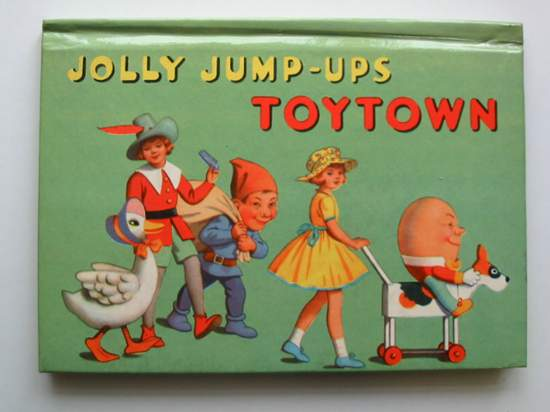 Photo of JOLLY JUMP-UPS TOYTOWN published by Purnell & Sons, Ltd., Birn Brothers Ltd. (STOCK CODE: 591879)  for sale by Stella & Rose's Books