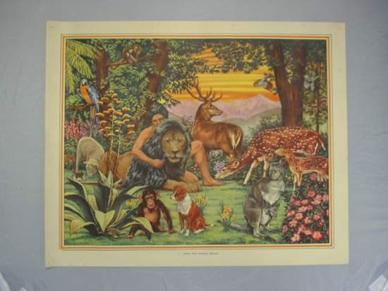 Photo of OLD TESTAMENT BIBLE PICTURES/REFERENCE BOOK TO OLD TESTAMENT BIBLE PLATES written by Blyton, Enid illustrated by Turner, John published by Macmillan & Co. Ltd. (STOCK CODE: 591918)  for sale by Stella & Rose's Books