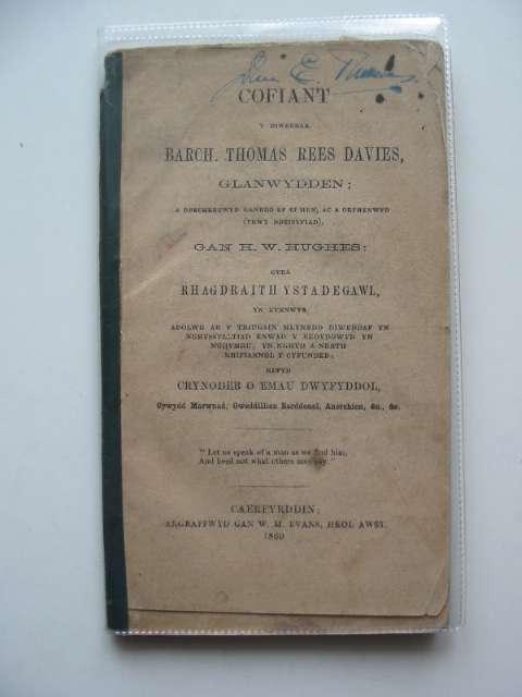 Photo of HYFFORDDWR YN EGWYDDORION Y GREFYDD GRISTIONOGOL written by Charles, Thomas published by Robert Saunderson (STOCK CODE: 591968)  for sale by Stella & Rose's Books