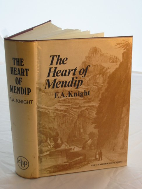 Photo of THE HEART OF MENDIP written by Knight, Francis A. published by Chatford House Press Ltd. (STOCK CODE: 592076)  for sale by Stella & Rose's Books